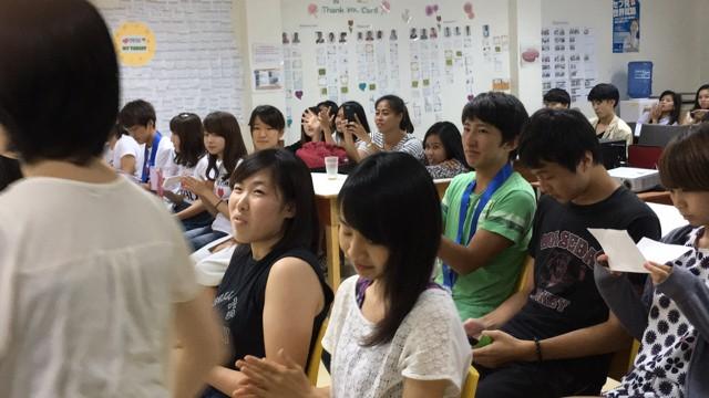 【實習生日記-Shin】9/23 大型畢業典禮